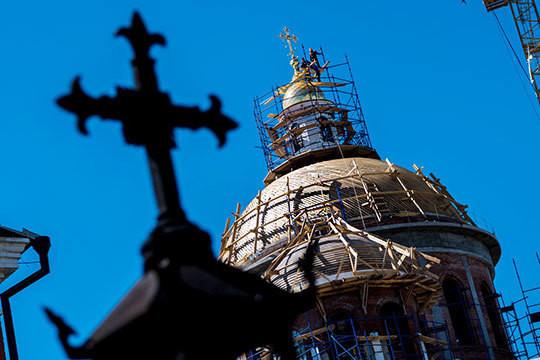 Кресты над новым собором, мусульманское ТV, реституция старообрядцев