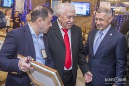 Зуфар Гаязов собрал у себя горнолыжников
