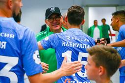 Семак нанес Бердыеву первое поражение в сезоне
