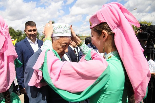 Делегация Татарстана посетила Сабантуй в Москве