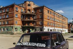 Улица Адмиралтейская как заповедник советского периода