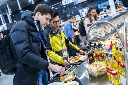 Участников WorldSkills 2019 будут кормить блюдами национальной, азиатской и европейской кухонь