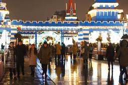 В Казани состоялось открытие зимнего сезона на Кремлёвской набережной