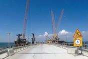Первая поездка по Керченскому мосту