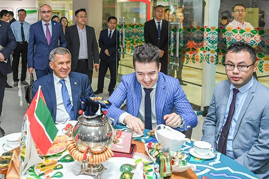 Азиатский вояж Минниханова: «Ван Хуэймэй хочет инвестировать в Кукмор»