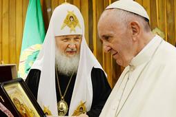 Приедетли Папа Римский назакладку Казанского собора?