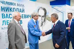 Минниханов: «Стало хорошей традицией проводить День химика в Нижнекамске»
