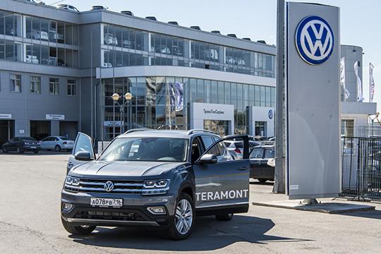 «Больше, чем просто БОЛЬШОЙ»: есть ли конкуренты у Volkswagen Teramont?