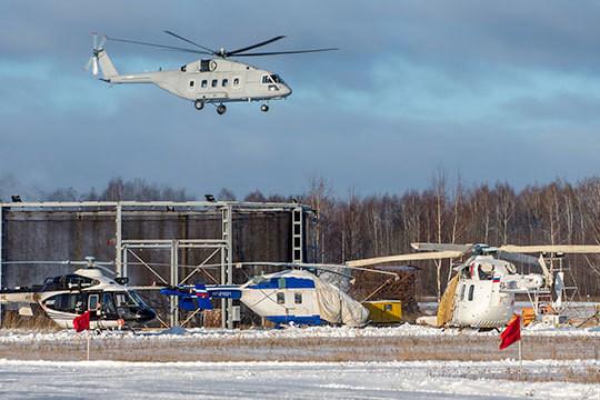 КВЗ: Первый Ми-38 для военных в воздухе