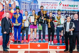 Татарстан успешно завершил уже третий теннисный турнир с начала года
