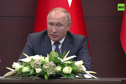 Путин в Турции процитировал Коран