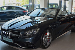«Mercedes S63 AMG – cамый уникальный кабриолет из всех имеющихся сегодня на рынке»