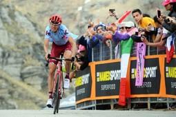 Cпортсмен из Татарстана выиграл этап велогонки «Джиро д'Италия»
