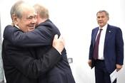 Путин в Казани: «Знаю, Татарстан умеет побеждать!»