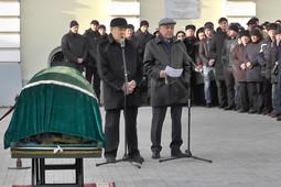 Прощание с супругой первого президента РТ Сакиной Шаймиевой