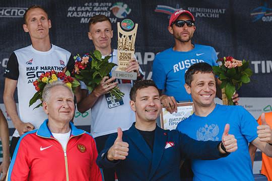 Казанский марафон, 2-й день: победитель пробежал 42,2 км за 2 часа 12 минут