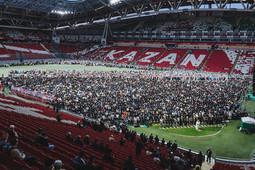 «Казань Арена» приняла авыз ачу на 15 тысяч человек