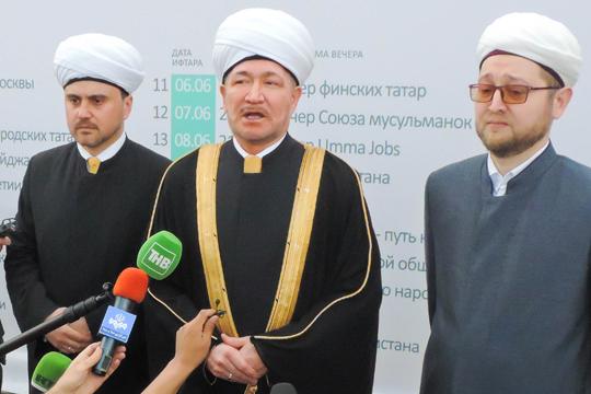 «Яхотел, чтобы вМоскве было 80мечетей, как вПекине, или 62мечети, как вБерлине...»
