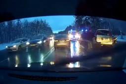 «Машина всмятку»: два человека погибли в ДТП под Казанью