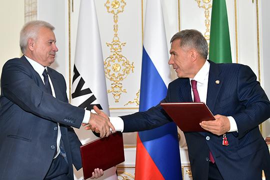 Вагит Алекперов о сотрудничестве с Татарстаном: «Были нюансы, но сейчас все урегулировано»