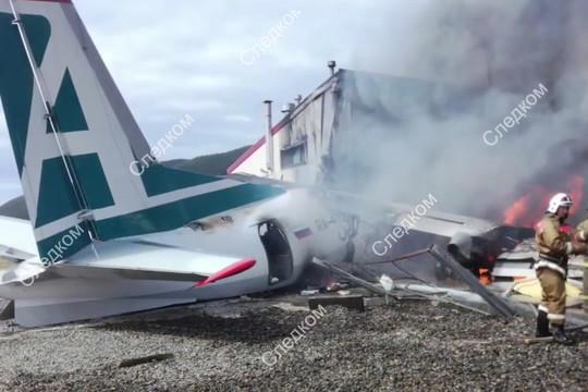 Жесткая посадка пассажирского Ан-24 в Бурятии: двое погибли, более 20 раненых