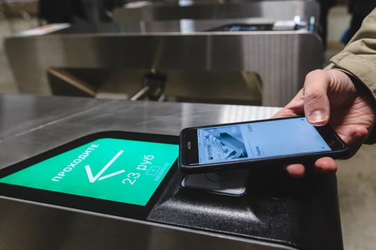 В казанском метро на всех станциях ввели бесконтактную систему оплаты