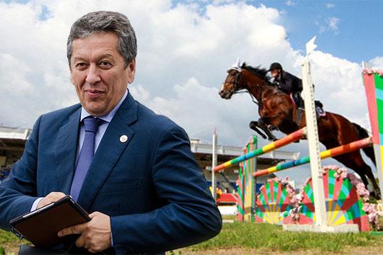 По примеру Сечина и Ротенберга: Наиль Маганов всерьез взялся за конкур и выездку