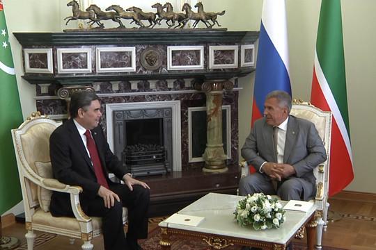 В Казань приехал президент Туркменистана Гурбангулы Бердымухамедов