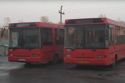 Казанские перевозчики под траурный марш «простились» с проданными автобусами