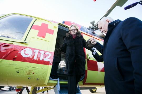 «Ростех» Чемезова передал санитарной авиации четыре «Ансата» и четыре Ми-8АМТ