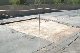 На Казанской набережной восстанавливают лопнувший от жары бетон