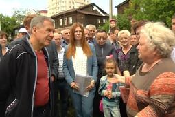 Рустам Минниханов посетил район Зеленодольска