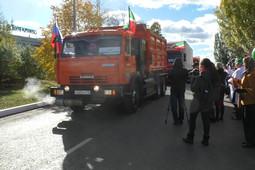 Рустам Минниханов открыл Хлебный проезд в Челнах