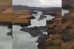 Минниханов показал всю красоту исландских водопадов