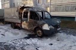 Пожарные Альметьевска предотвратили взрыв ГБО в горящей «Газели»