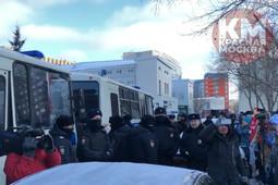 В Москве начались задержания пикетирующих у посольства Японии