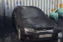 Поселки в Кемеровской области накрыл черный снег