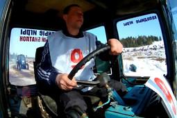 В Удмуртии прошел тракторный биатлон