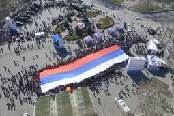 Как Крым отпраздновал пятилетие со дня воссоединения с Россией