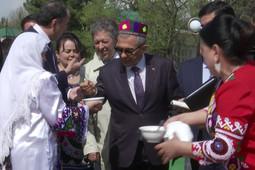 Минниханов принял участие в праздновании Навруза в Таджикистане