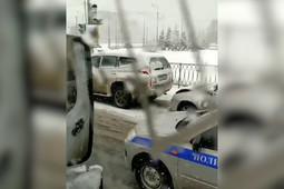 Сильный снегопад осложнил ситуацию на дорогах Татарстана