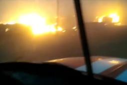 В Забайкальском крае бушуют природные пожары