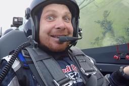 Гонщик команды «КАМАЗ-Мастер» совершил полет на Red Bull Air Race