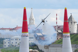 Red Bull Air Race в Казани: шоу в воздухе, на воде и земле