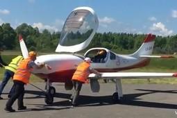 Под Казанью приземлились 18 самолетов авиаралли Франция – Россия