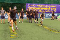 «Ак Барс» провел открытую тренировку для болельщиков в парке им. Горького
