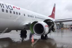 В Шереметьево пассажиров Boeing 737 эвакуировали из-за ЧП на борту