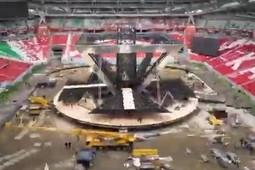Как монтировалась сцена на церемонии открытия WorldSkills 2019