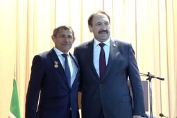 В Тюлячах проводили прежнего главу района Ильдуса Зарипова