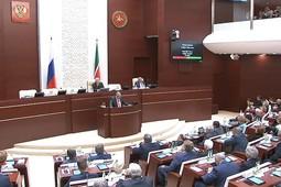 Live! В Казани открылось первое заседание Госсовета РТ VI созыва